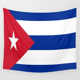 Flag of Cuba Wall Tapestry
