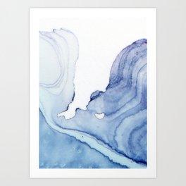 Canyon no.1 Art Print