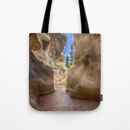 At the End of the Canyon - Grand Staircase of the Escalante - Utah Tote Bag