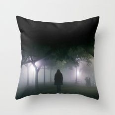 spirits drifting Throw Pillow