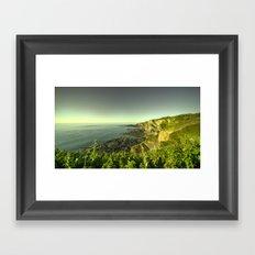 North Devon Coastscape Framed Art Print