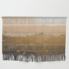 Golden Hour - Los Angeles, California Wall Hanging