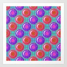 Yodeling Yo-Yos Art Print