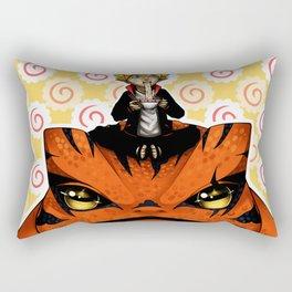 aspiring sage swordsman Rectangular Pillow