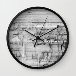 Grey city lights Wall Clock