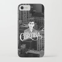 alex turner iPhone & iPod Cases featuring Alex Turner Ford Cortina by Balans