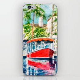 Naples Red iPhone Skin