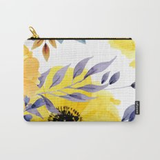 FLOWERS WATERCOLOR 10 Carry-All Pouch