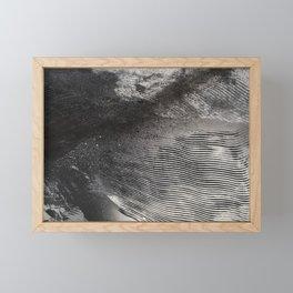 Storm petrel #waves #abstract #flow Framed Mini Art Print