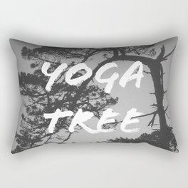 Yoga Tree Rectangular Pillow