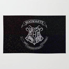 Cosmic Hogwarts Crest HP Rug