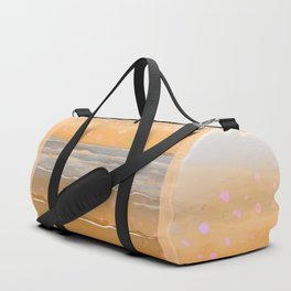 Peach Beach Memories Duffle Bag