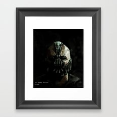 Gotham's Reckoning  Framed Art Print