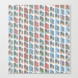 building pattern 1 Canvas Print