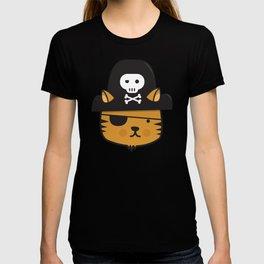 Pirate Cat: Jumpy Icon T-shirt