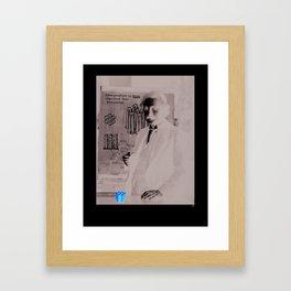 Imagination > Knowledge Framed Art Print
