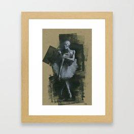 The Dark Dancer Framed Art Print