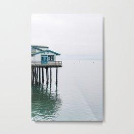 Ocean Boardwalk . Santa Barbara, California Metal Print