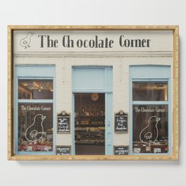 The Chocolate Corner Serving Tray