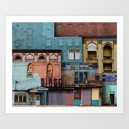 verdigris Art Print