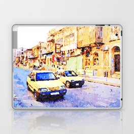 Aleppo: Taxi through the streets of Aleppo Laptop & iPad Skin