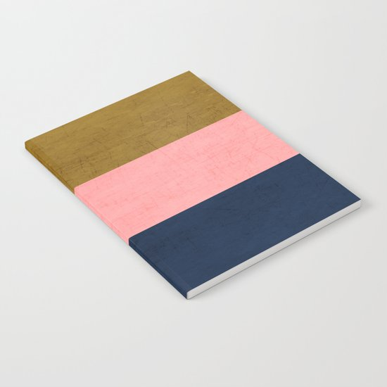 three stripes - classic Notebook