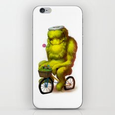 Bike Monster 1 iPhone & iPod Skin