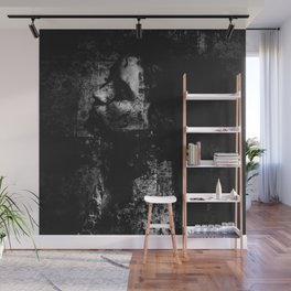 Falling in the darkness Wall Mural