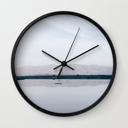 BLUE MOON XI / Alviso, California Wall Clock