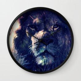 Leo Lion : Deep Pastels Wall Clock