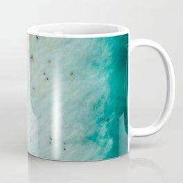 Large Aerial Beach Print, Printable Beach Art, Beach Wave Art, Aerial Beach Photography, Coastal Art, Ocean Print, Modern Art Coffee Mug