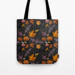 October pattern Tote Bag