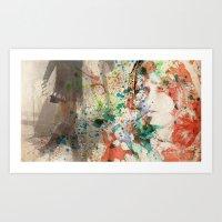 allison argent Art Prints featuring Allison Argent by reliand