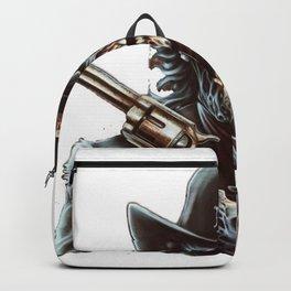 crazy man tow guns Backpack