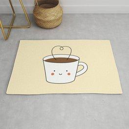 Kawaii Coffee Cup Rug