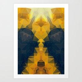 POLI LEMON OLI 2 Art Print