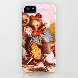 The Rabbit And The Hedgehog - Digital Remastered Edition iPhone Case