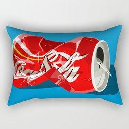 Crushed Can Rectangular Pillow