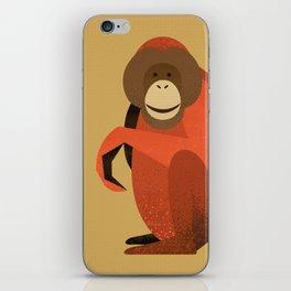 Whimsy Orang Utan iPhone Skin