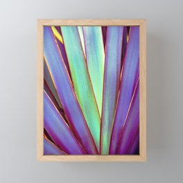 Fiesta Palm Framed Mini Art Print