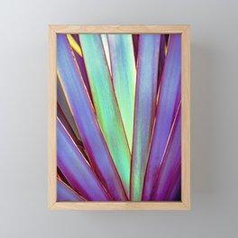 Fiesta Palm Framed Mini Art Print