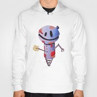 robot Hoodies featuring Robot by Ciotti