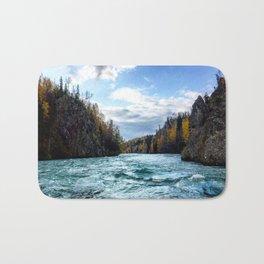 Kahtnu River, Alaska Bath Mat