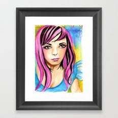 Audacious Audrey Framed Art Print