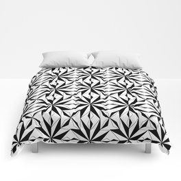 black and symetric patterns 1- Comforters