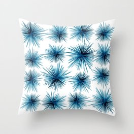 Spiny Sea Urchins Throw Pillow