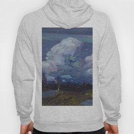 Tom Thomson moonlight-1914 Canadian Landscape Art Hoody