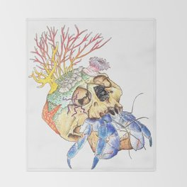 Home I: Hermit Crab Throw Blanket