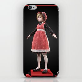 Red bonnet iPhone Skin