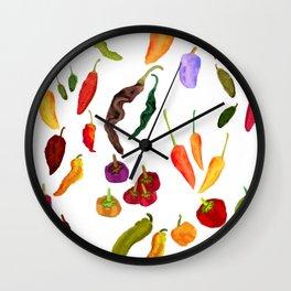 Chilis Wall Clock